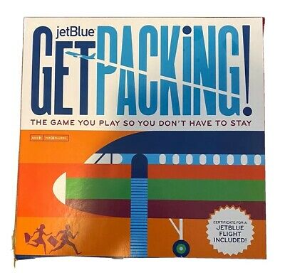 JetBlue Get Packing! Board Game - No flight certificate included
