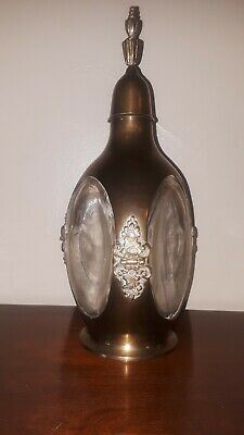 So RARE Google can't find it! JOHN HAIG & CO Scotch whiskey bottle DIMPLE