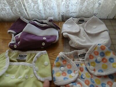 Thirsties Natural All In One Lot ( 4 size one covers + 5 miscellaneous liners)