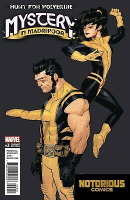 Hunt for Wolverine Claws of a Killer #1 Wheres Wolverine Variant EXCELSIOR BIN