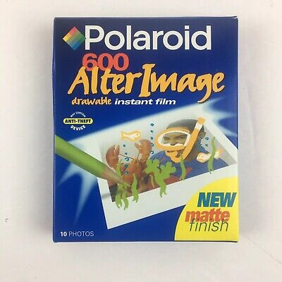 Polaroid 600 ALTER IMAGE DRAWABLE Instant Film 10 Photos EXPIRED 03/00