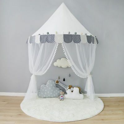 Children Tent Cotton Play Tent Bed Curtains For Baby Room Decoration Photoshoot