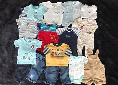 Baby Boy Quality Clothing Bundle, 0-6 months, Preloved