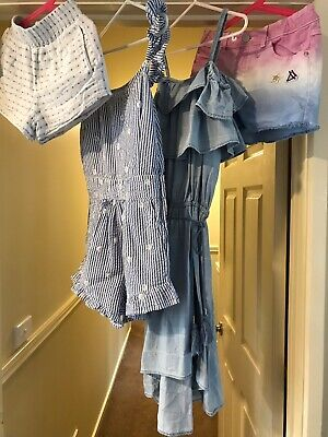 Girls Summer Clothes, Size 12