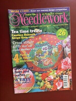 Vintage Needlework Magazine March 1996 - 26 projects