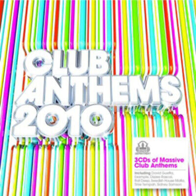 Various Artists : Club Anthems 2010 CD 3 discs (2010) FREE Shipping, Save £s