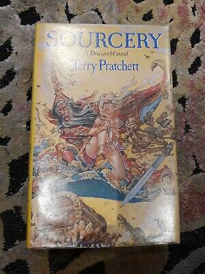 Sourcery by Terry Pratchett - 1st edition -hardback