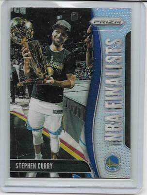 2019-20 Stephen Curry Panini Prizm Silver Prizm Nba Finalists No. 6