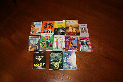 Lot of 13 Kids Chapter Books Boys/Girls Interest 4th 5th 6th Grades