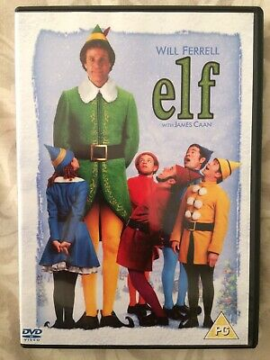 Elf DVD (2 Disc Sp. Ed.) Will Ferrell & James Caan. Great Christmas Fun Film.
