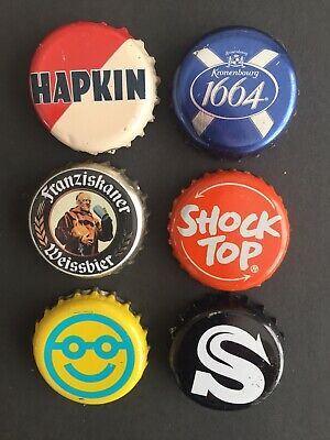 Beer Bottle Top Crown Caps Lot 3