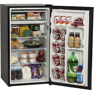 Mini Small Fridge Compact Food Refrigerator Kitchen Home Single Door 3.3 Cu.ft