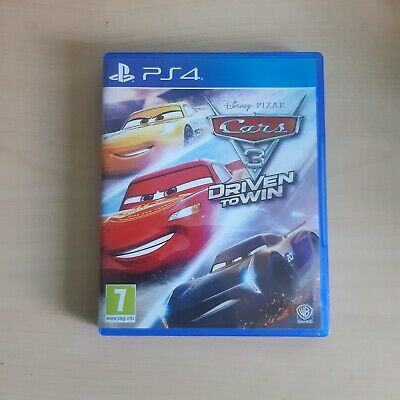 Ps4 Game Cars 3 Driven To Win