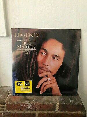 Bob Marley & The Wailers - Legend 2Lp Island 50Th Reissue Brand New Sealed Vinyl