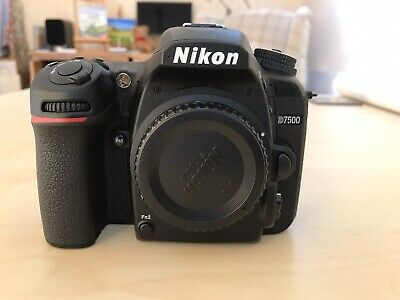 Nikon D7500 20.9MP Digital SLR Camera - Black (Body Only) Mint Plus Extras.