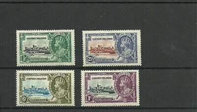 Cayman Islands Sg108-111  1935 Silver Jubilee Set Mounted Mint Ref6