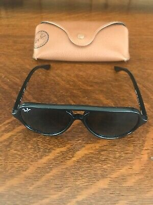 Authentic Ray-Ban Junior RJ9049S 100/71 Black Sunglasses with case