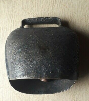 old Bronze cow bell