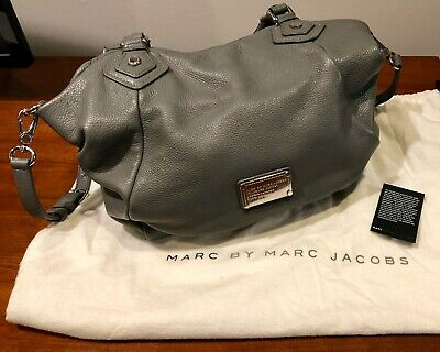 MARC by MARC JACOBS Classic Q Fran Large Pebbled Leather Hobo Shoulder Bag