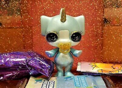 Poopsie Sparkly Critters HAMMER Shark New Figure With Slime Out Of Can