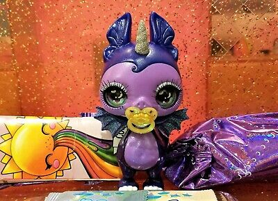 Sparkly Critters MIDNIGHT Poopsie Slime Surprise Rare Bat New Figure Out Of Can
