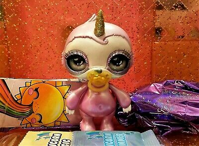 Sparkly Critters DAWDLE Poopsie Slime Surprise Rare Sloth New Figure Out Of Can