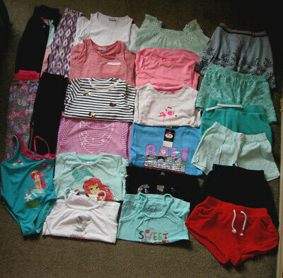 Large Girls Bundle, 22 items,6-7yrs, Gap, Next, Disney, Pep&Co,Nutmeg,Tu,Soulex.