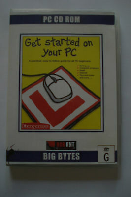 - Get Started On Your Pc ( Aussie Seller) As New [Pc Cd-Rom]