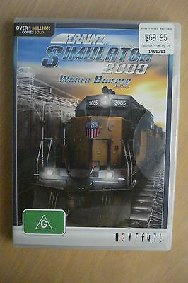 - Tranz Simulator 2009 World Builder Edition [As New] Dvd-Rom Game Complete