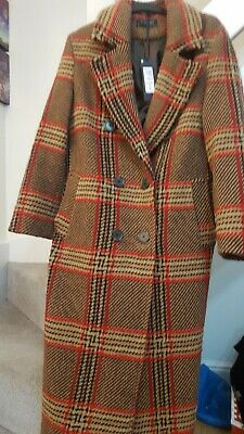 M&S BNWT  Wool Blend Coat Size 10 as Worn by Holly Willoughby