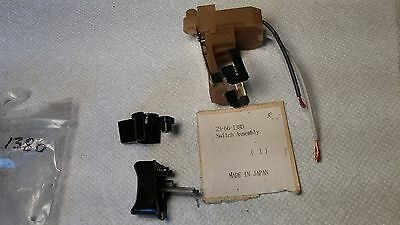 NOS Milwaukee 23-66-1380 Switch Assembly (3 pieces)  #205