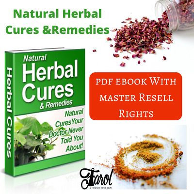 Pdf ebook Natural Herbal Cures & Remedies + master Resell Rights free shipping