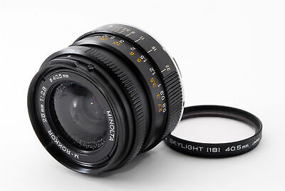 """Excellent++"" Minolta M-Rokkor 28mm f2.8 Lens for Leica M Mount from Japan #1123"