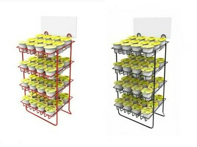 Countertop Small Bottle Wire Rack Canister Holder Nail Polish Display Stand