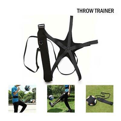 Football Self Training Kick Practice Trainer Aid Equipment Waist Belt Returner.