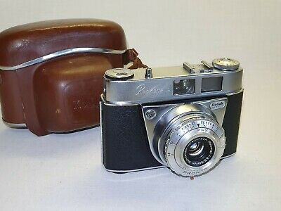 Vintage Kodak Retinette 1A Film Camera with case. Made in Germany f3.5/50mm.