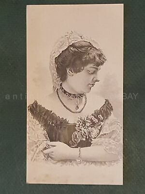 1880s antique NEWBERY PECK CO troy pa CORSET victorian TRADE CARD comfort hip