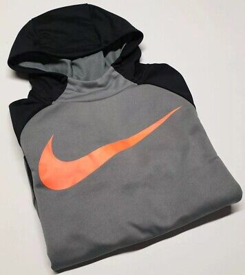 ⚡Genuine⚡Boy's  NIKE DRI FIT TRACK HOODIE JACKET COAT SIZE LRG Age 14 15 16y