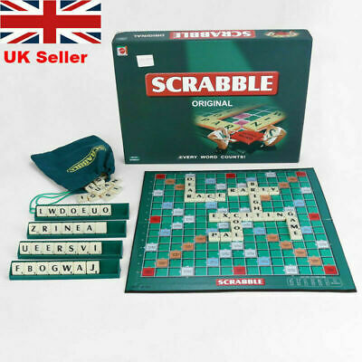 Hot Puzzle Game Original Scrabble Board Game Family Kids Adults Educational Toys