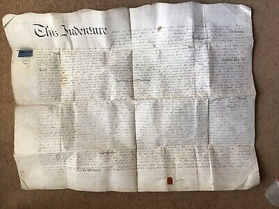 1837 INDENTURE Lease Of Land Rame Croft Wendron Cornwall James To Pascoe