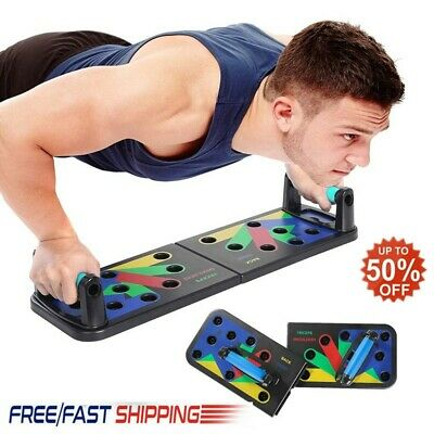 11-in-1 design push-up board training system muscle training chest exercise