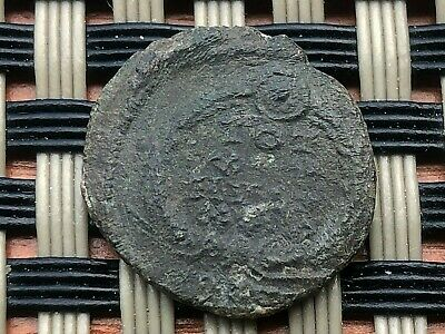 Roman Empire-Constantius Ii 347-355Ad Ae Follis Vot In Wreath Ancient Roman Coin