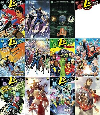 LEGION OF SUPER-HEROES (2019) - Issues #1 and up - Standard + Variant covers
