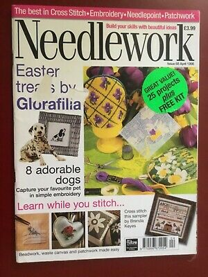 Vintage Needlework Magazine Issue No: 68 April 1998 - 25 projects to make (No FR