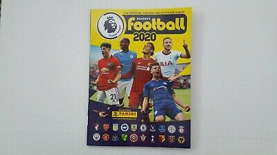 Panini Football 2020 Official Premier League Sticker Album .