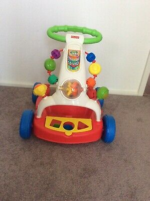 Fisher Price Walker Converts To Trolley