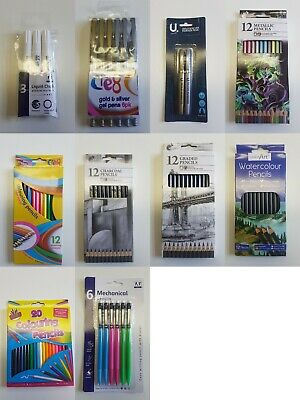 Kids, Hobby Art, CardMaking, Pen & Pencil Sets PLUS A FREE GIFT WITH EVERY ORDER