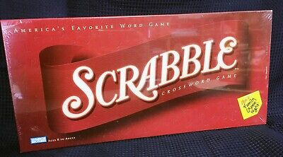 SCRABBLE Letter Tiles Board Game - Brand New, Factory Sealed
