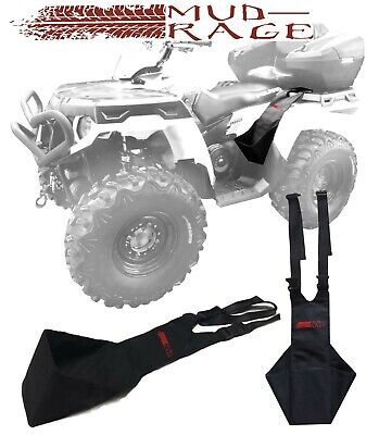 TOUGH! MUD-RAGE Universal Fit ATV Rear Passenger Foot Rests Foot pegs Stirrups