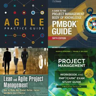PMBOK Guide 6th Edition +Lean and Agile Project+ Agile Practice Guide +P.D.F